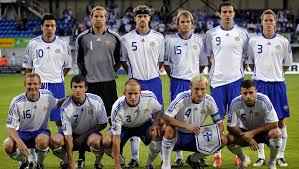 team photo for Finland