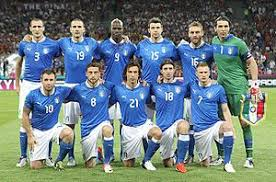 team photo for Italy