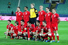 team photo for Wales